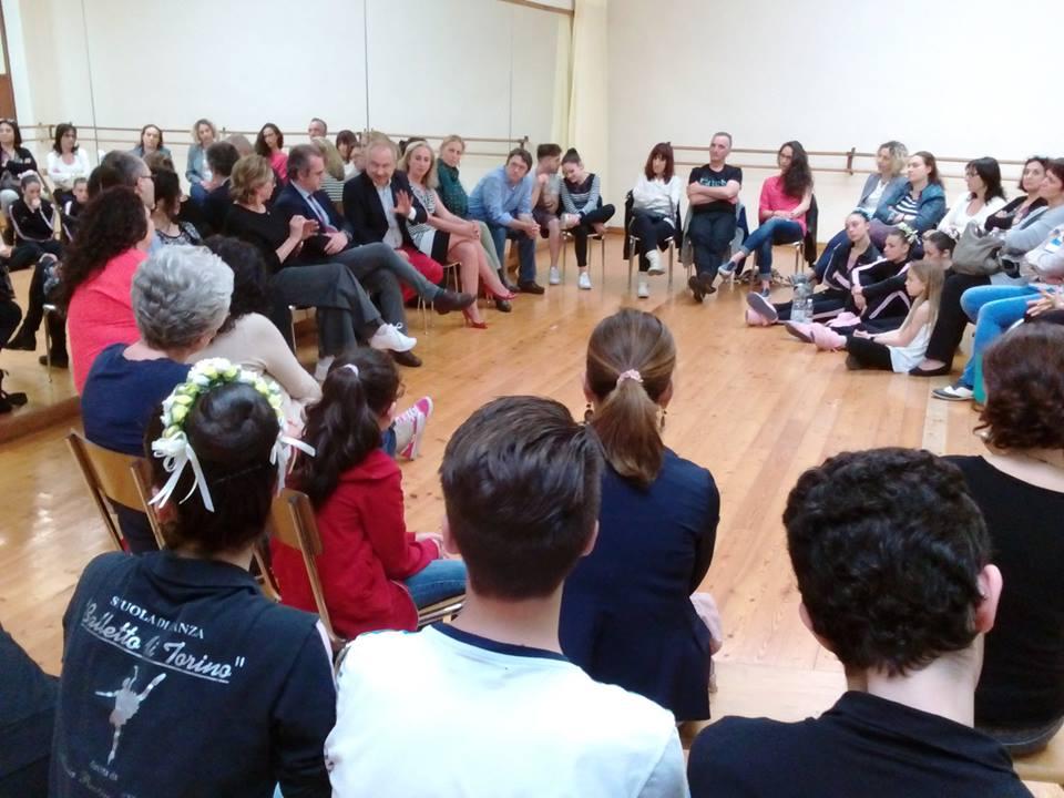 L'evento di Progetto Torino dedicato a teatro e danza. Presenti Gianguido Passoni, Beatrice Belluschi, Giulio Graglia e Loredana Furno